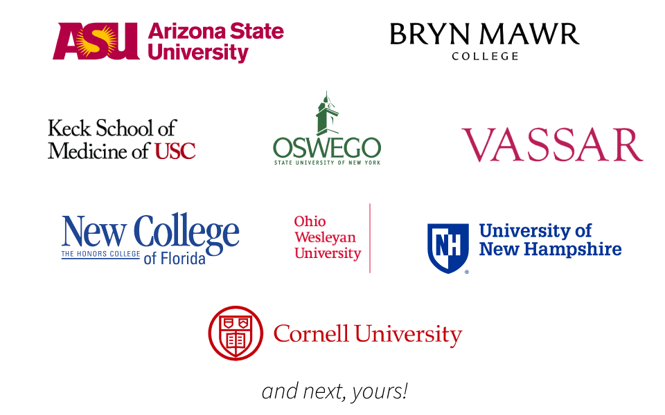 These are some of the schools I've taught at in the past